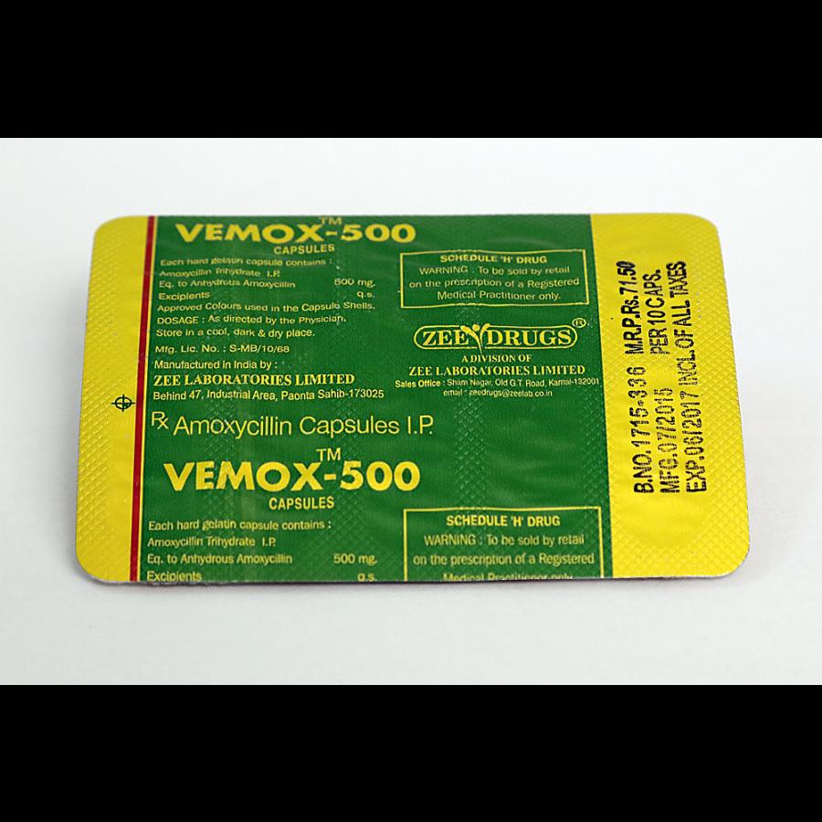 Buy Vemox 500 online